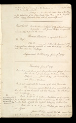 Fair Minutes Of The Committee For The Abolition Of The Slave Trade f. 5